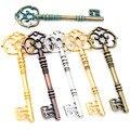 83x31 мм 2 шт. Бронзовый, зеленый, золотой цвета, античное серебро, позолоченный ключ, подвески ручной работы, подвеска: DIY для браслета, ожерелья