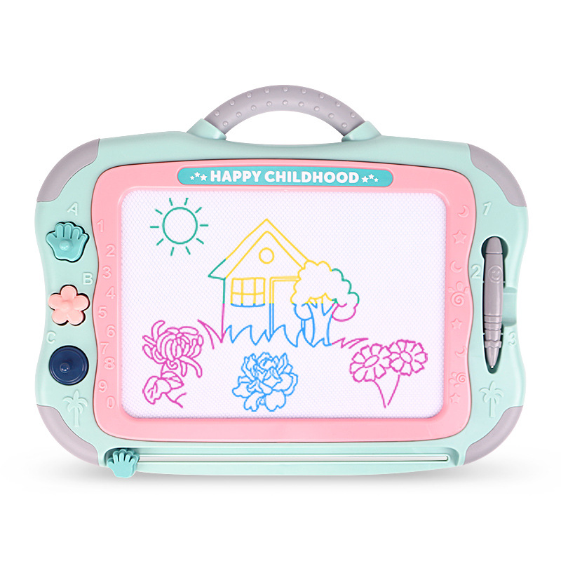 Ming Tower Magnetic Children Drawing Board Kindergarten Early Childhood ENLIGHTEN Doodle Board Boys And Girls Educational Learni