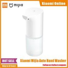2021 orijinal Xiaomi Mijia otomatik indüksiyon köpük el yıkama yıkama otomatik sabun 0.25s kızılötesi sensör akıllı evler için