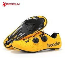 BOODUN self-locking cycling shoes road mountain bike carbon fiber soles mens racing bicycle