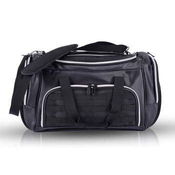 Male Large Capacity Hand Luggage Oxford Carry on Duffle Tote Bag Travel Shoulder Bag Clothing Multiple Pockets