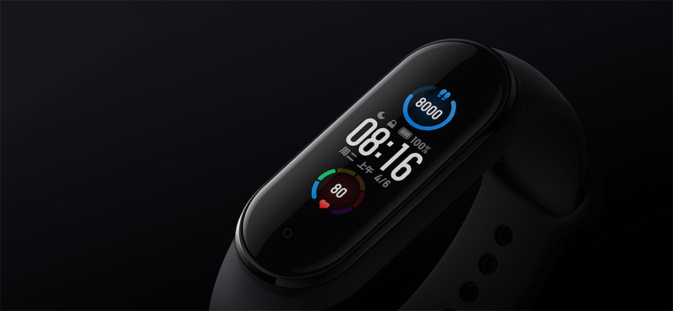 Xiaomi Mi Band 5 Smart Bracelet 4 Color Touch Screen Miband 5 Wristband Fitness Track Heart Rate Monitor Swim Sport Smartband