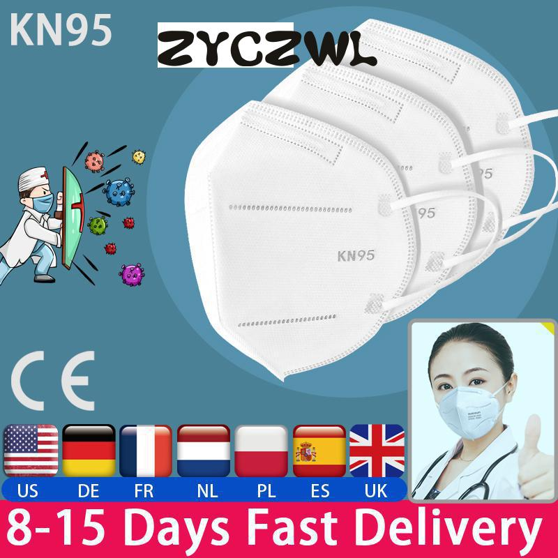 Fast Delivery Hot Sale KN95 Dustproof Anti-fog And Breathable Face Masks N95 Mask 95% Filtration Features As KF94 FFP2