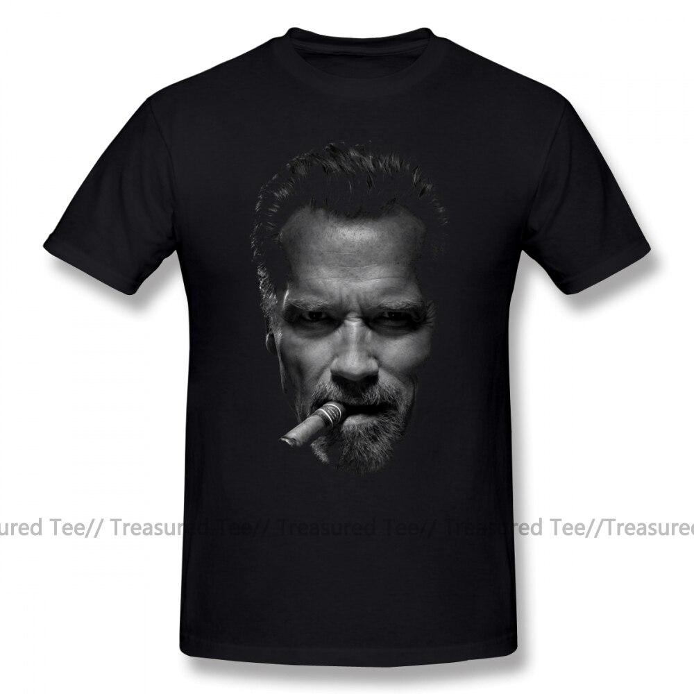 Arnold Schwarzenegger T Shirt Arnold Schwarzenegger T-Shirt Classic 100 Cotton Tee Shirt Printed Male Short-Sleeve Cute Tshirt
