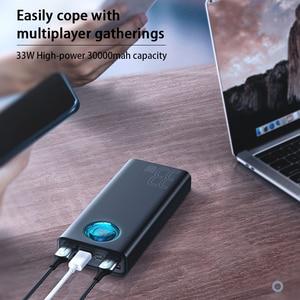 Image 3 - Baseus 30000mAh 전원 은행 PD SUB 3.0 빠른 충전 휴대용 충전기 33W Powerbank 여행 외부 배터리 팩 전화 노트북