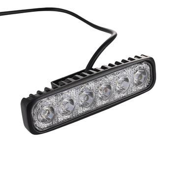 Foco LED 4 Uds 18W para camiones ATVs Jeeps SUVs barcos tractores agricultura Etc maquinaria pesada iluminación exterior almacén de la UE
