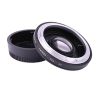 FD AI Camera Lens Mount Adapter with Optical Glass for CANON FD Lens to for NIKON AI DSLR Body Mount Adapter Infinity Focus