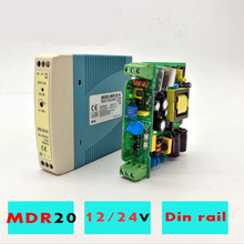 MDR-20 20W Single Output 5V 12V 15V 24V Din Rail Switching Power Supply AC/DC Ultra-Thin Mounted