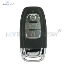A4 A6 Q5  smart remote car key 8T0959754C 434Mhz 3button for Audi include key insert