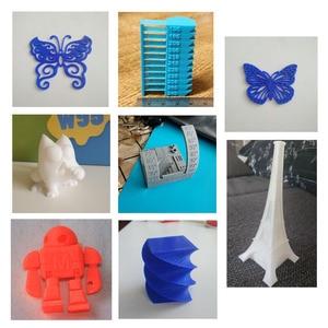 Image 5 - PLA/ABS/PETG/TPU Filament 1.75 mm 1KG/0.8KG 343m/10m 2.2LBS ABS Carbon Fiber 3D Plastic Material for 3D Printer and 3D Pen