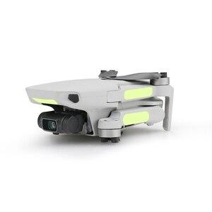 Image 3 - 2pcs פלורסנט מדבקה עבור Dji Mavic מיני זוהר מדבקות לילה אור Drone דקור Mavic מיני מדבקת אבזרים