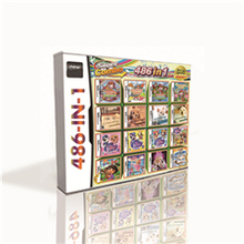 Cartucho de juego 486 en 1 para consola de juegos DS 2DS 3DS de alta calidad