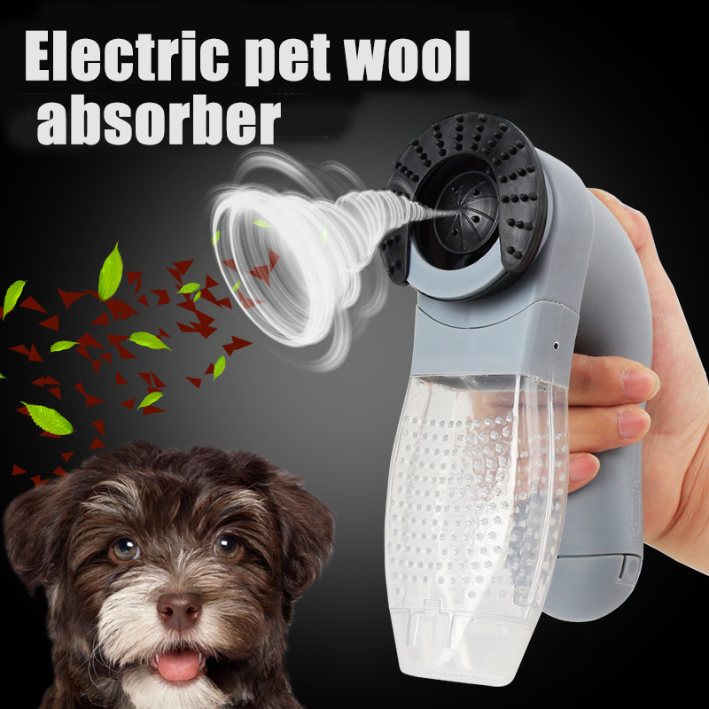 Electric Cat Dog Pet Comb Vacuum Fur Cleaner Hair Remover Puppy Trimmer Cat Grooming Tool Pets Dogs Pet Dog Accessories Brush