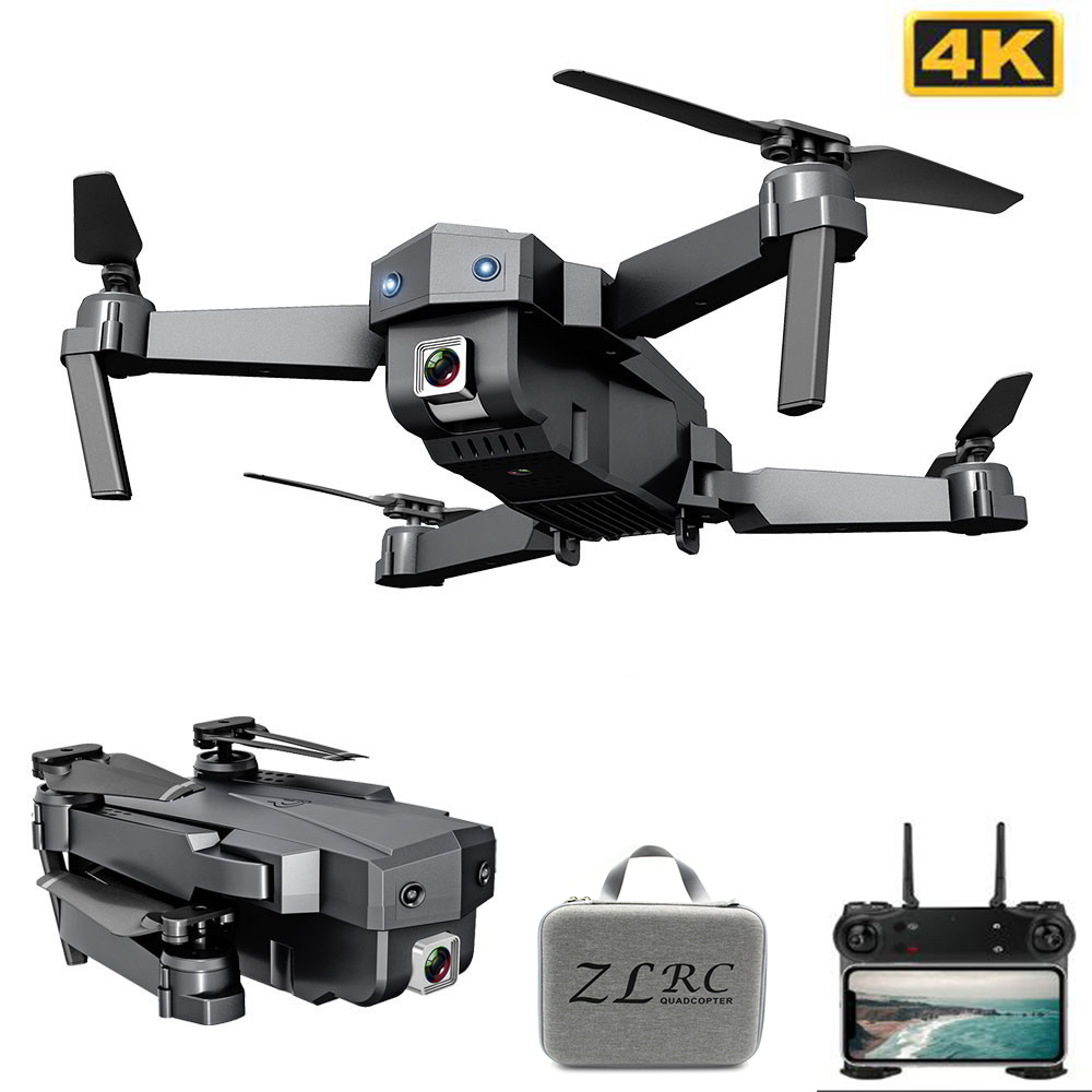 Profession Smart Mini Drone With 4K WIFI 1080P FPV Camera 2.4GHZ Foldable Quadcopter Optical Flow Quadrocopter RC Drone Camera