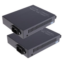 2X Gigabit Dual Switch Ethernet RJ45 Ke SC Fiber Media Converter 20KM(China)