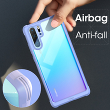 ASINA Bumper Case For Huawei P30 Pro Silicone Luxury Shockproof Transparent Phone Mate 20 Coque Capa