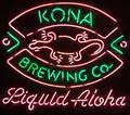 Пользовательские Kona пивоварения магазин стеклянный неоновый свет знак пивной бар