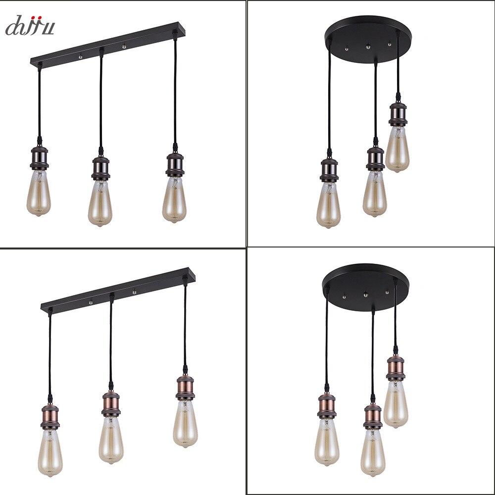 E27 LED Surface Mounted Ceiling Lamp Retro Industrial Loft AC90-260V Ceiling Spot Light Kitchen Bar Home Decor