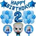 39 шт. Boss Детские Алюминий воздушный шар с рисунком из популярного мультфильма, Фольга воздушный шар с гелием для День рождения принадлежнос...