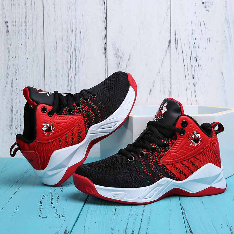 High-top Jordan Basketball Shoes Cushioning Jordan Shoes Kids Boys Sneakers Basketball Sports Shoes Teenager Training Boots