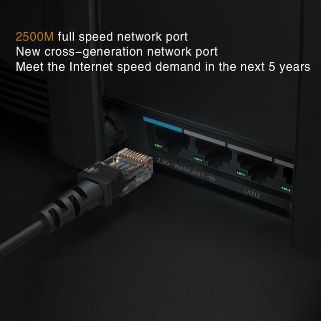 New 2021 Xiaomi AX6000 AIoT Router 6000Mbs WiFi6 VPN 512MB Qualcomm CPU Mesh Repeater External Signal Network Amplifier Mi Home 4
