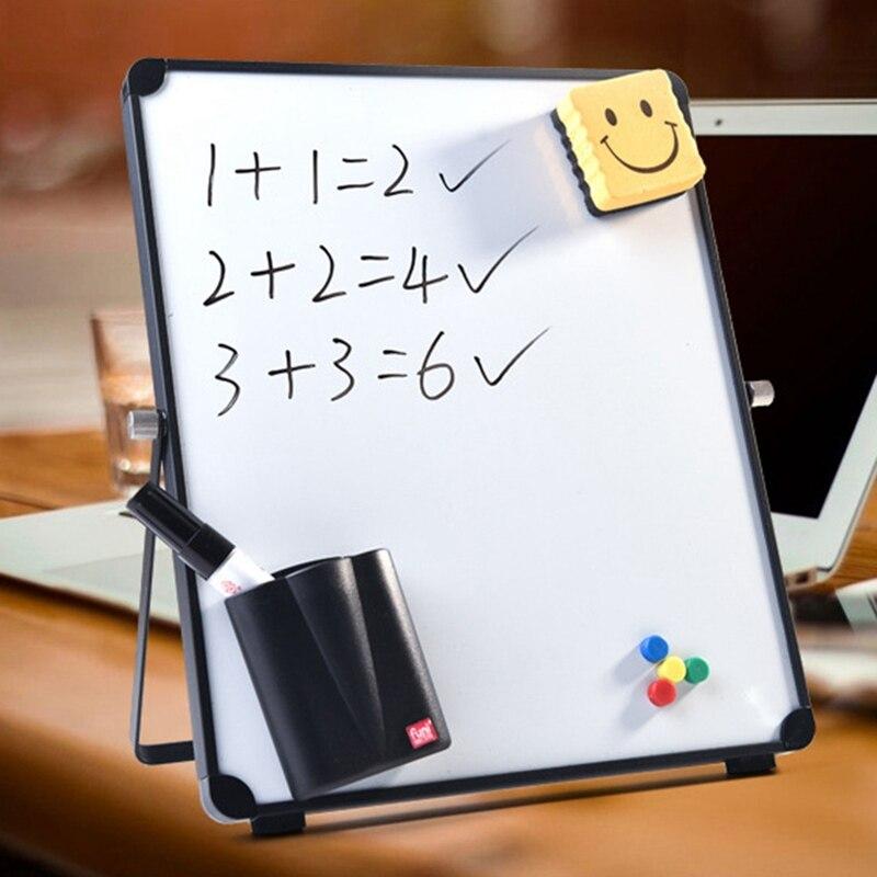 2020 Erasable White Board Magnetic Desktop Whiteboard Office School Tableau Blanc Roll Up Reusable Message Board