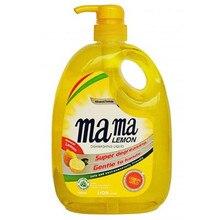 Гель концентрированный для мытья посуды и детских принадлежностей Mama Lemon, 1 л