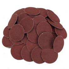 Quality 50Pcs 120 Grit 2 inch Roloc Roll Lock Sanding Grinding Discs for Polishing Abrasive