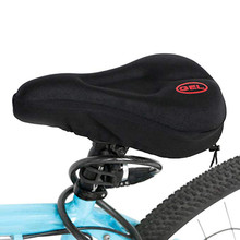 Tapete de bicicleta nova mais ampla almofada de silicone almofada macia da bicicleta sílica gel assento sela capa durável durável bicicleta ao ar livre ciclismo #8