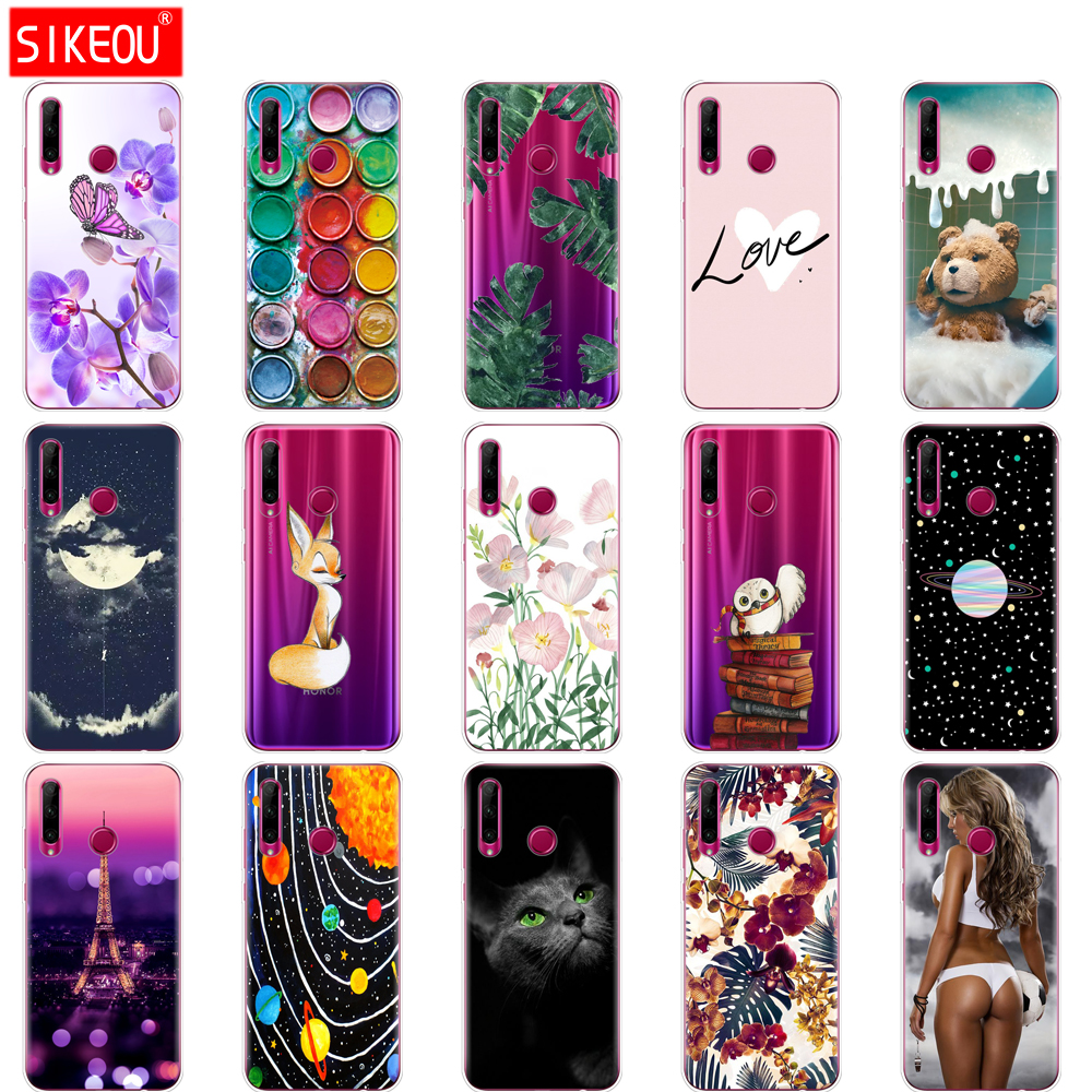 case on Honor 20 Case silicon Back Cover Phone Case For Huawei Honor 20 Pro Lite Honor20 YAL-L21 YAL-L41 Luxury Cartoon image