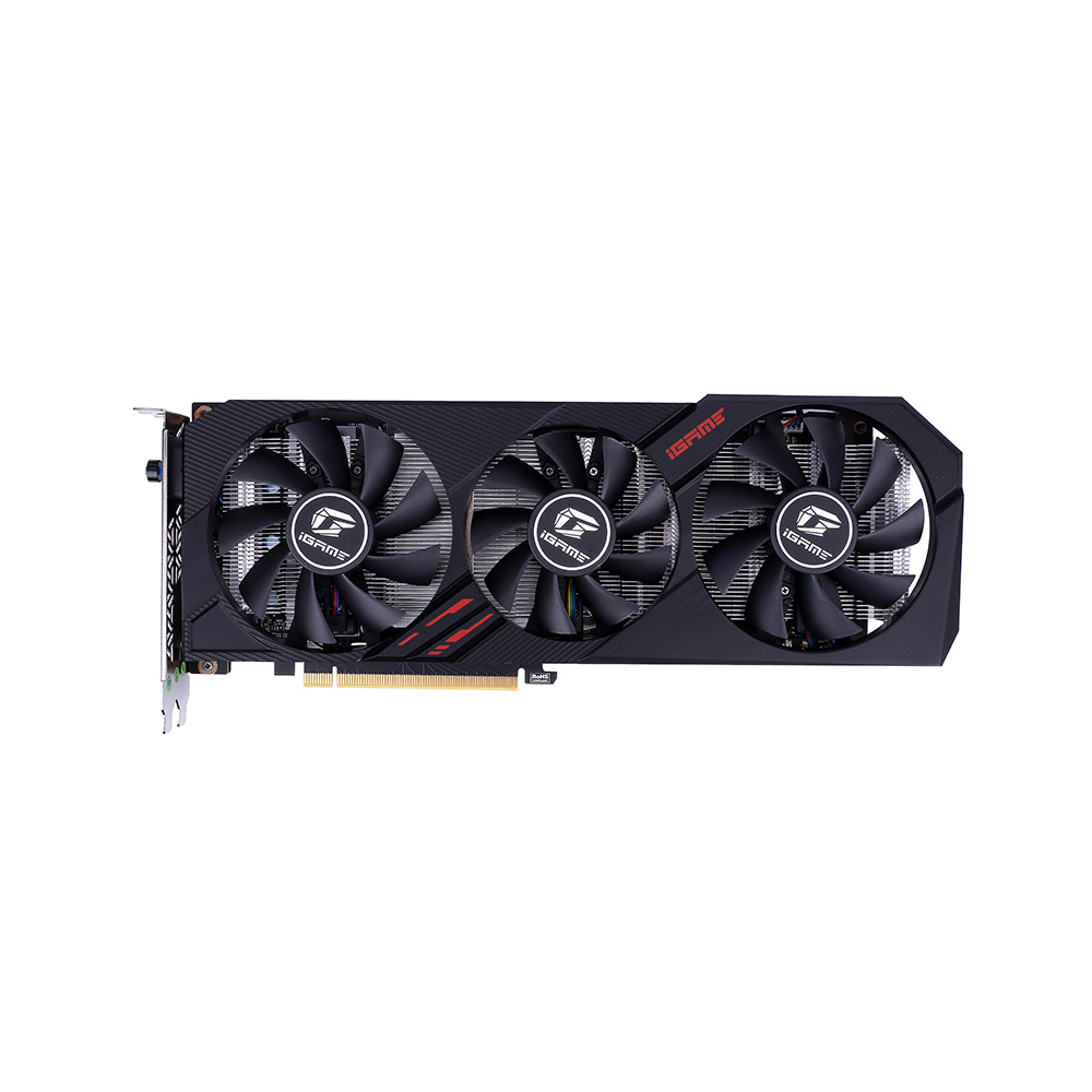 Colorful iGame GeForce GTX 1660 SUPER Ultra 6G Graphic Card 1830MHz GDDR6 6GB RGB Light One-Key Overclock GPU for computer image
