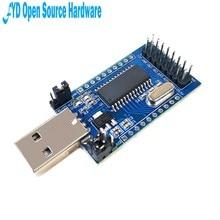 1 шт., модуль CH341 с USB на UART IIC SPI TTL ISP EPP/MEM, параллельный конвертер