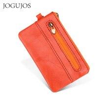 Короткий кошелек jogujos из воловьей кожи для мужчин и женщин