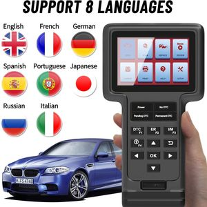 Image 5 - THINKCAR ThinkScan OBD2 Automotive Diagnostic Scanner Engine Analyzer Full System Oil DPF EPB SAS Reset Read Code  Free Shipping