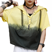 Printed Tee T-Shirts oversized Max Lulu Tops Streetwear Female Womens Ladies Summer-Fashion-Brand