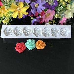 Image 5 - Rose Flower Silicone Mold Fondant Mold Cake Decorating Tools Chocolate Gumpaste Mold Baking Tools