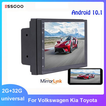 Essgoo Android 9.0 2 Din Car Radio Stereo Auto Multimedia Player 7'' Autoradio GPS Navigation Universal For Volkswagen toyota image