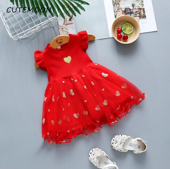 baby infant summer dress fashion girls wedding party dress kids girls cute lace clothing girls birthday clothing