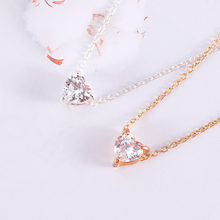 Bohemian Crystal Heart Necklace Women Short Pendant Necklace Collar Choker Jewelry Gift Valentine's Day Gift 1Pc(China)