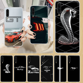 Car Logo Fords Mustang GT Phone Case hull For SamSung Galaxy note A 5 7 8 9 20 30 40 50 51 60 70 71 80 2017 18 E transparent image