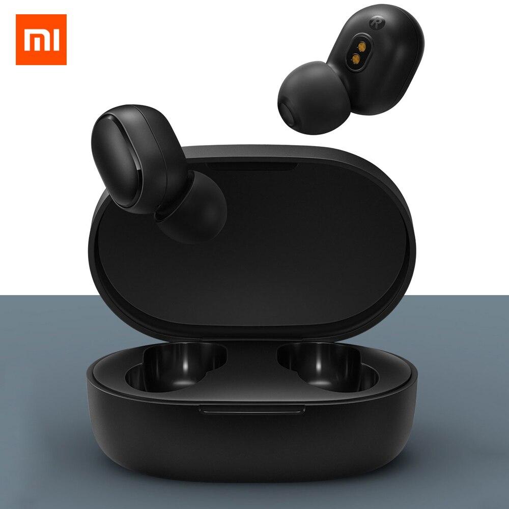 Оригинальные наушники Xiaomi Redmi Airdots TWS, Bluetooth 5,0, гарнитура с шумоподавлением, стереонаушники с басами, наушники