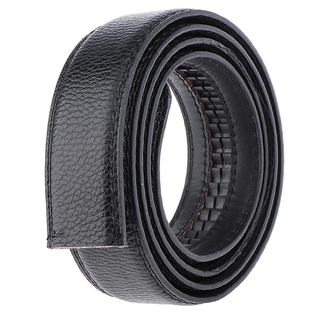 Men's Automatic Dress Belt Strap Waistband Without Buckle Belts Replacement Waist Belt Slide