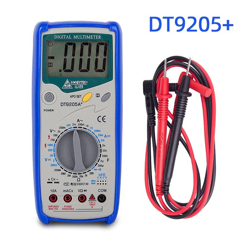 Профессиональный Цифровой Мультиметр lcr, тестер конденсатора, индикатор напряжения, тестер транзисторов, щупы для мультиметра с зондом Мультиметры      АлиЭкспресс