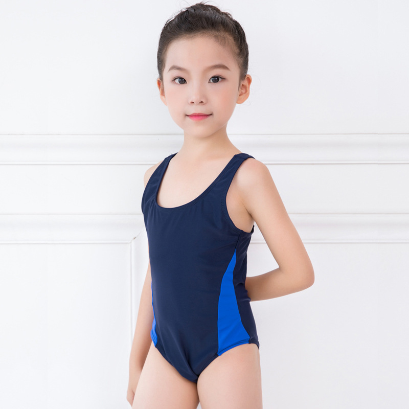 KID'S Swimwear GIRL'S Girls One-piece Big Boy Profession Swimming Training Game Swimwear Sports One-piece Swimming Suit