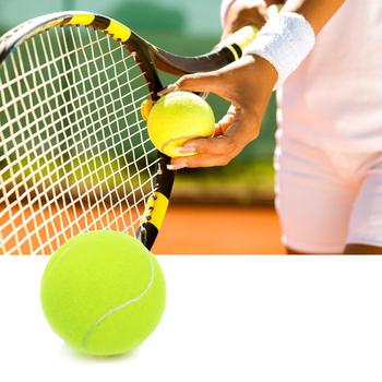 Professional Rubber Tennis Ball High Resilience Durable Ball Equipment Practice Ball Tennis Training Tennis Training Compet image