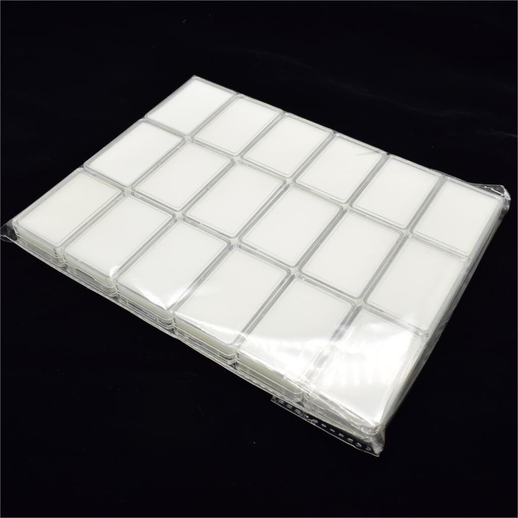 Оптовая продажа 18 шт./лот 5,7 см x 3,7 см коробка для алмазного дисплея пластиковый чехол для алмазного камня коробка для хранения драгоценных к...