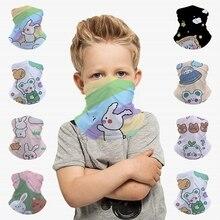 Tube Scarf Headband Face-Mask Kids Balaclava Outer-Space Bear