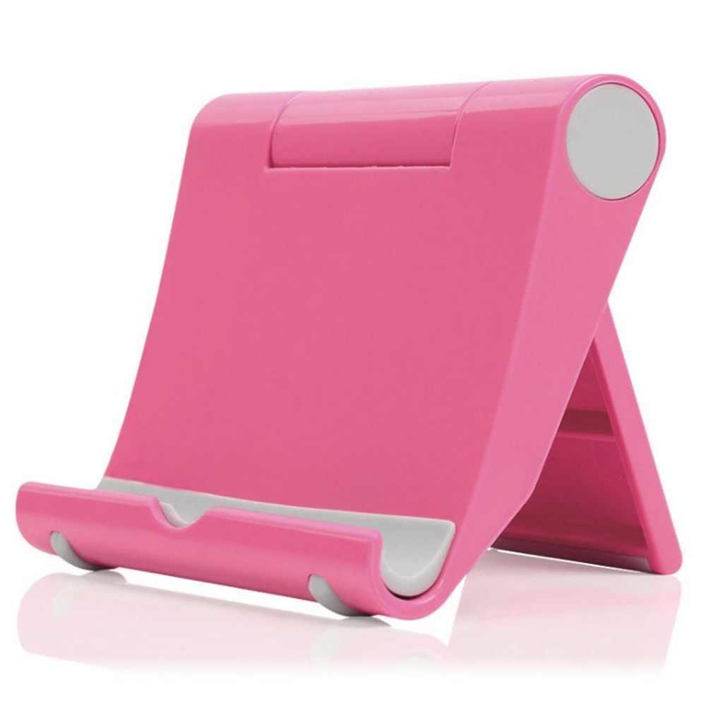 Support de téléphone portable paresseux pliant universel multi-fonction rotatif de bureau avec support pour téléphone Mobile paresseux