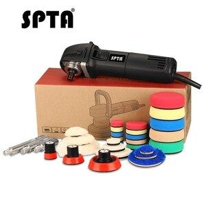 "Image 5 - Spta 3 ""研磨機ミニカーポリッシャーホームdiy自動マイクロロータリーで29個カー研磨パッドセット"