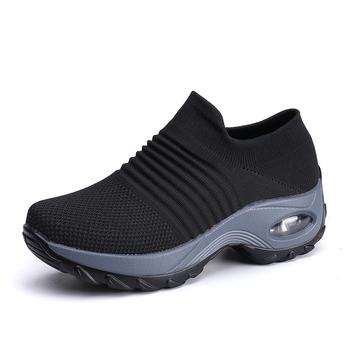 Loveontop kobiety Slip On Ladies trampki buty kobieta wygodne mieszkania Sneakers buty dla kobiet buty tanie i dobre opinie Płaski obcas CN (pochodzenie) Cotton Fabric okrągły nosek RUBBER Wsuwane Dobrze pasuje do rozmiaru wybierz swój normalny rozmiar